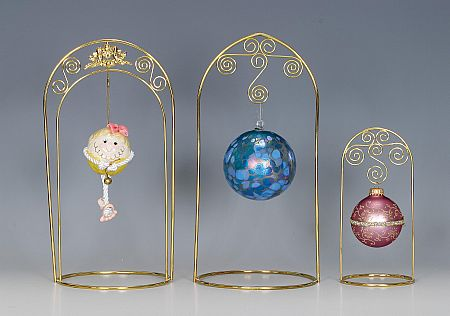 Ornament  Stands - Arched - Set of 6