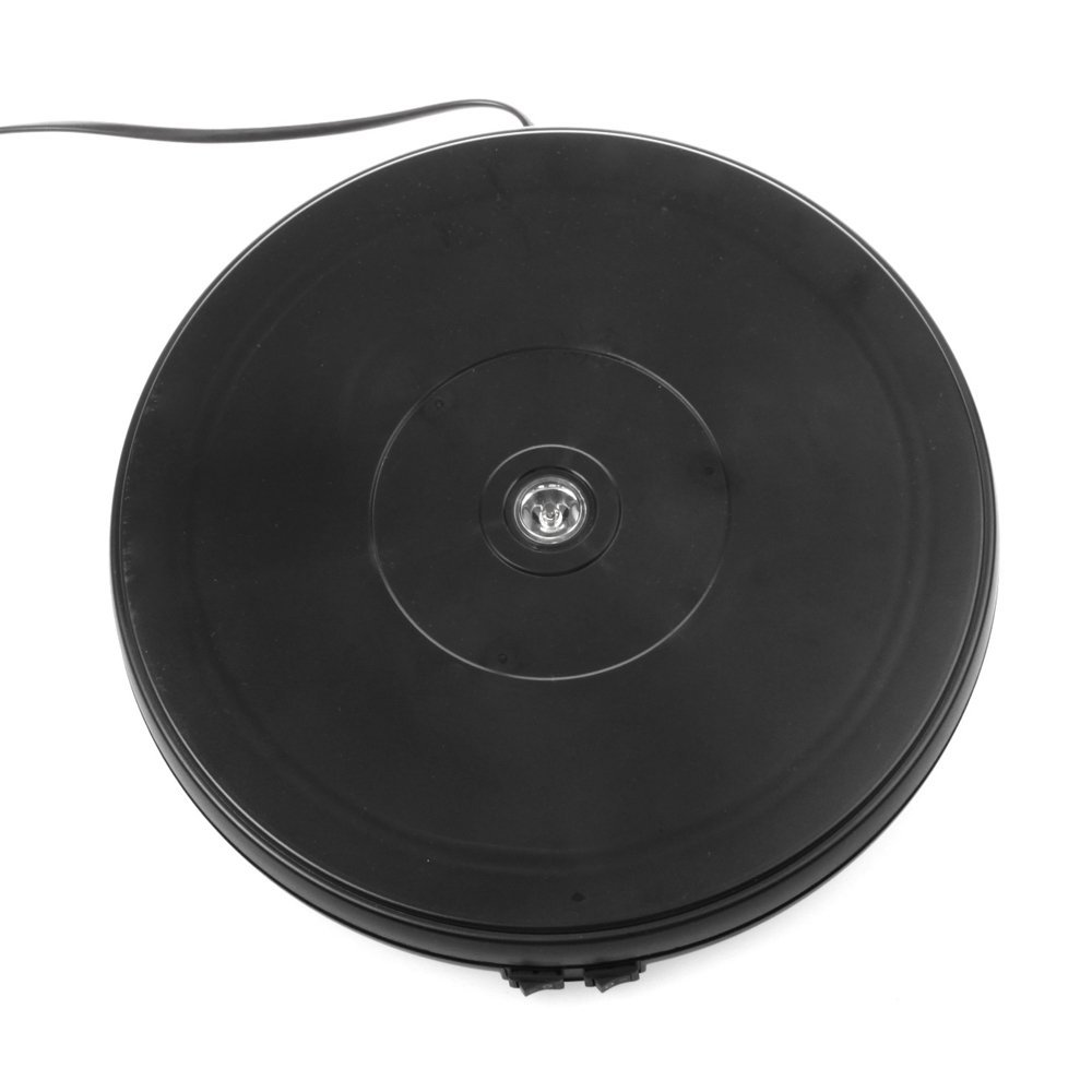 Turntable Display - Black LED 10 inch - 20 Pound