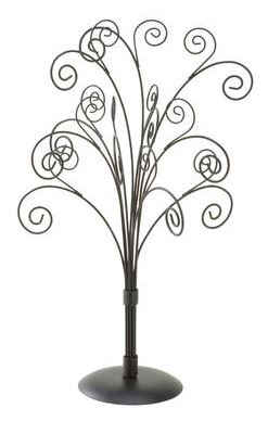 Display Tree - Black 11 Arm - Set of 2