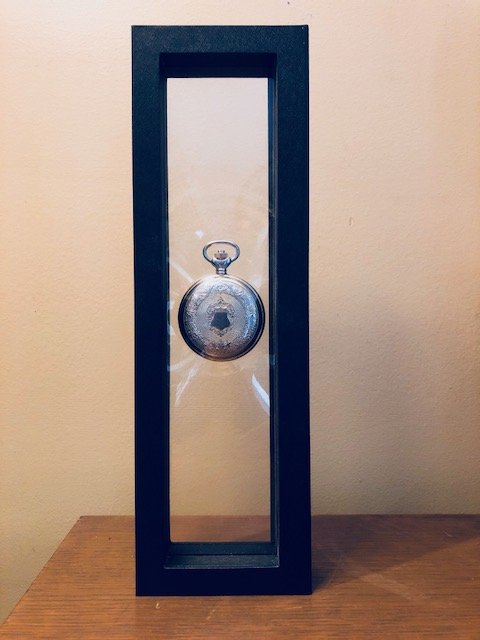Pocket Watch Display Case - Three Watch Display