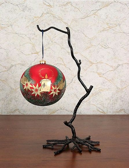 Ornament  Stands - Wrought Iron Twig