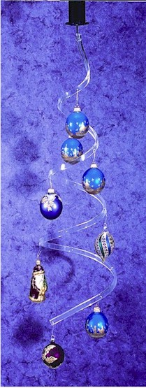 Ornament Holders - Acrylic Hanging Display