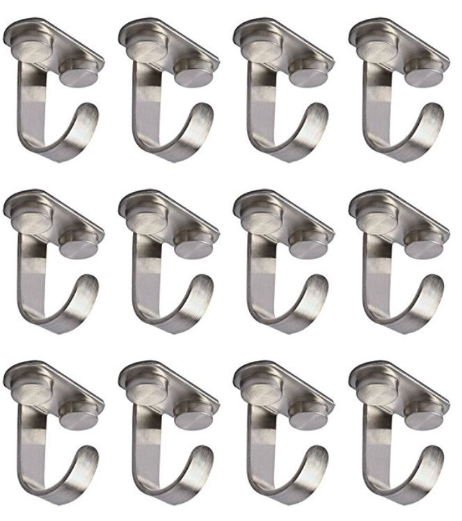 Mug Display Hooks - Set of 12 Stainless Steel