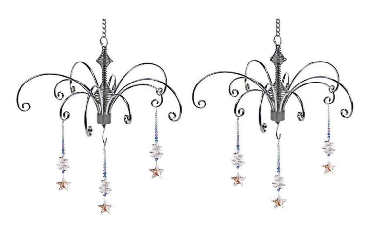 Ornament Display Hanger - Set of Two Ceiling Hangers