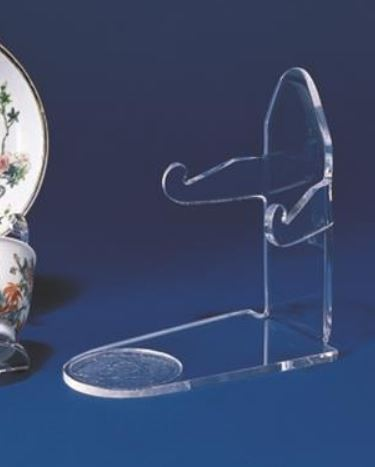 Cup and Saucer Stands - Acrylic Elevated Saucer - Set of 6