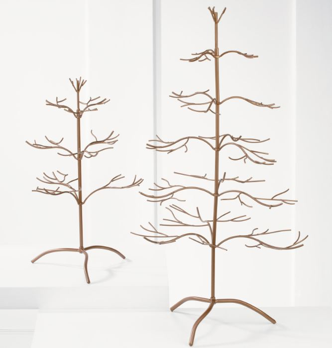 Ornament Tree - Copper Natural 25""