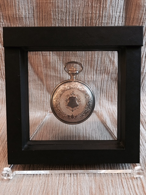 "Pocket Watch Display Case - 5-1/2"" x 5-1/2"""