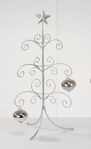"Ornament Trees - Regent Display Tree 22"" Silver - Mini"