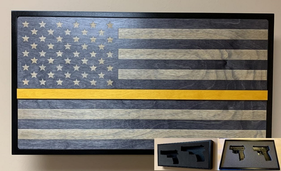 Hideaway Display - Yellow Line Service Flag