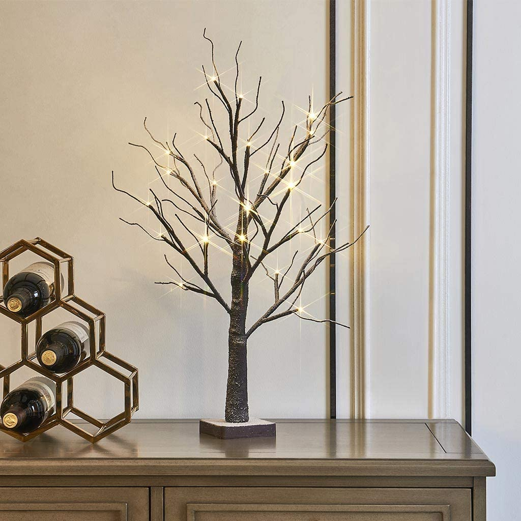Display Tree - Small Lighted Brown Birch