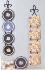 Mini Plate Display Hangers for 3 - 6 Plates