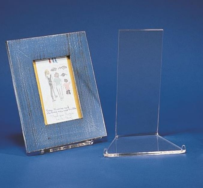 Acrylic Display Stand - Low Profile Easel