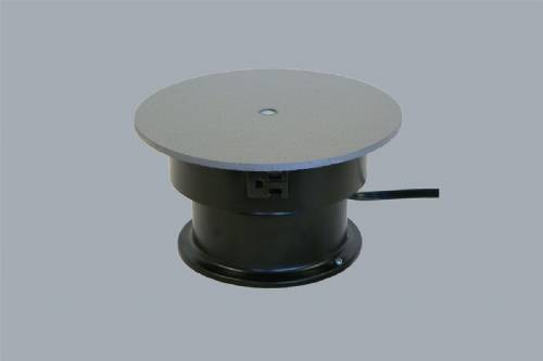 "Turntable With Outlet - 8"" Round - 25 Pounds"