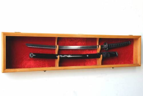 Sword Display Case - Single Sword and Scabbard