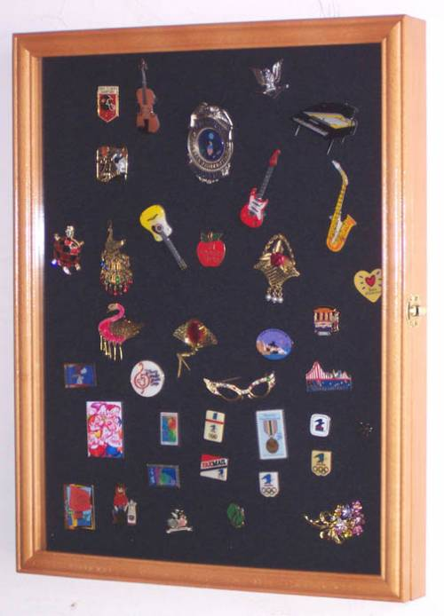 Display Case - Medals, Pins or Patches - Medium