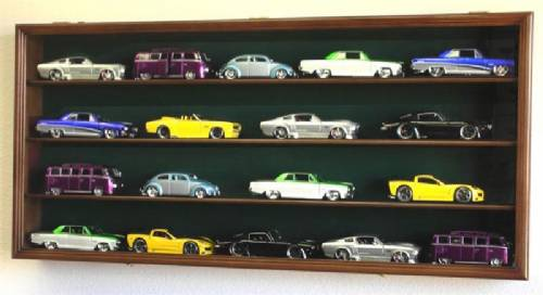 Diecast Collector Cases - UV Protective Door 3 Shelf