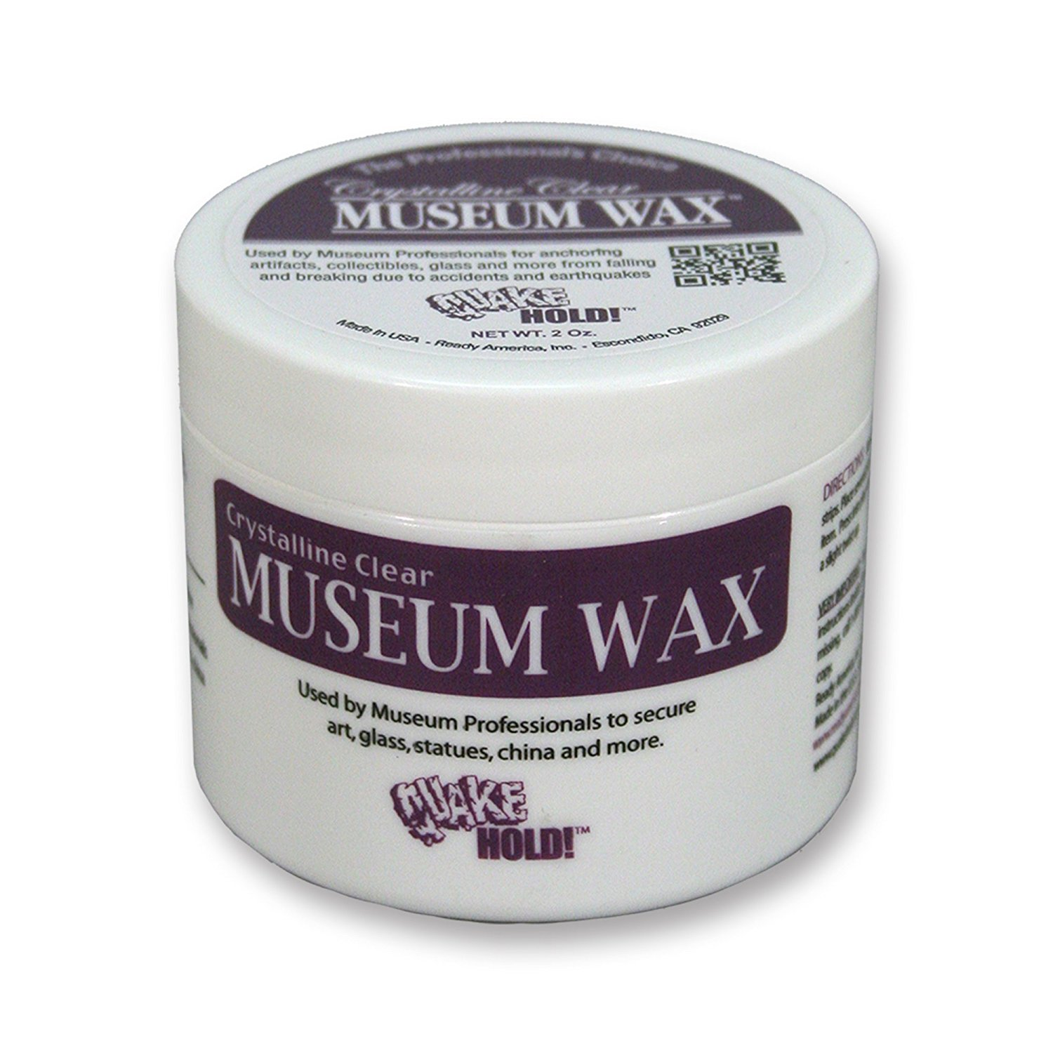Display Case Accessories - Museum Wax 2 oz.Tub