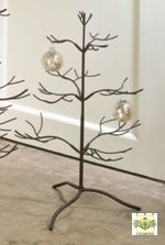 Ornament Tree - Brown Natural 25""