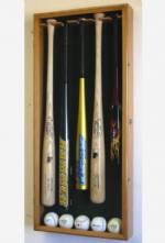 Display Cases - Baseball Bat - 5 Bat UV Acrylic