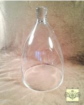 "Glass Dome - Medium Bell Jar Cloche - 9"" x 15"" H"