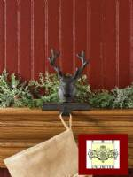Stocking Holders - Rustic Reindeer Head