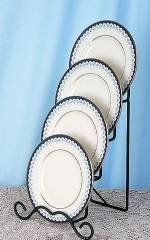 Plate Stands - Iron Four Tier Plate Holder
