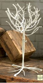 Natural Design Display Tree - White Finish 26""