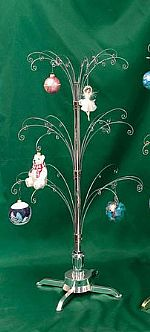 "Ornament Trees - Rotating Large - 39 1/2"" Curled Branch"